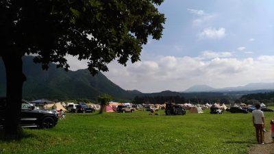 広ーーーいキャンプ場