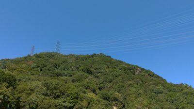 六甲山からの風が心地良い